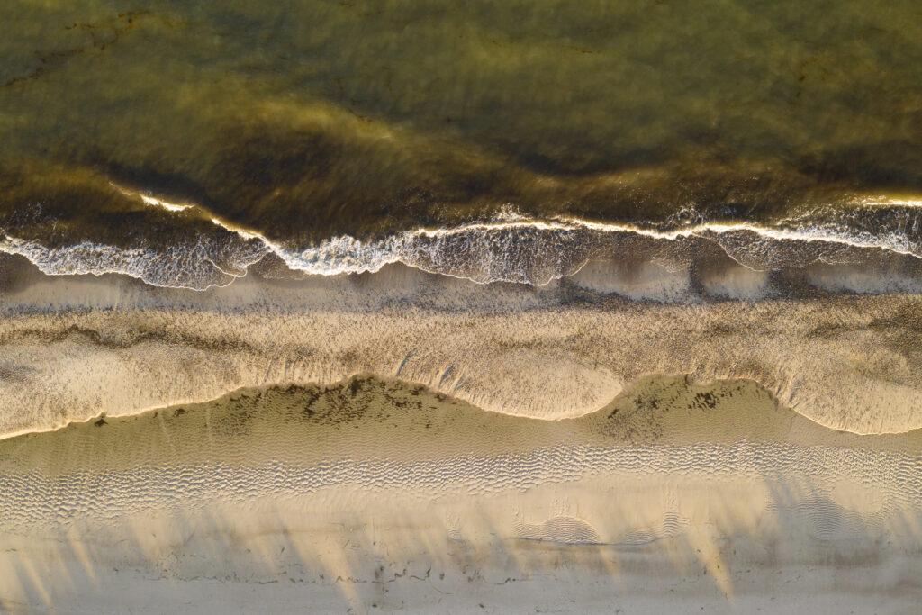 Drohne, Meer, Strand, Ostsee